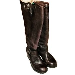 LUCKY brand moto boot size US 6.5